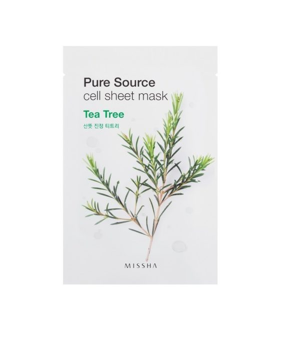 Pure Source Cell Tea Tree Teepuuöljy -kasvonaamio