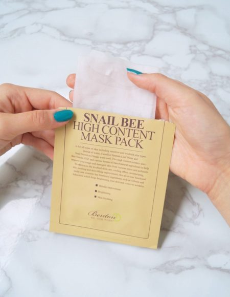 Snail Bee High Content Mask Pack -kangasnaamio