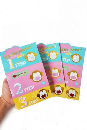Golde Monkey Glamour Lip Patch -huultenhoitosetti