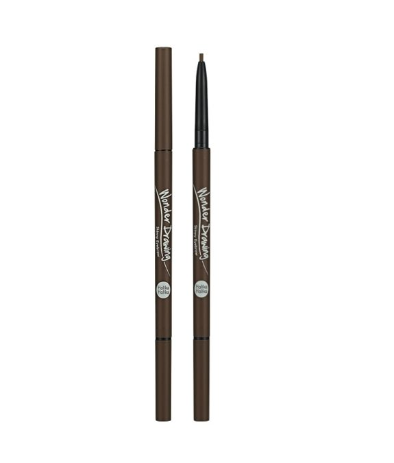 Wonder Drawing Skinny Eyebrow | 02 Dark Brown | Holika Holika