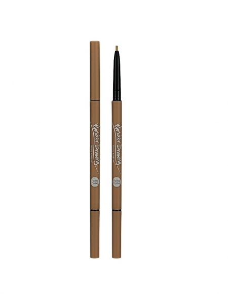 Wonder Drawing Skinny Eyebrow | 03 Light Brown | Holika Holika