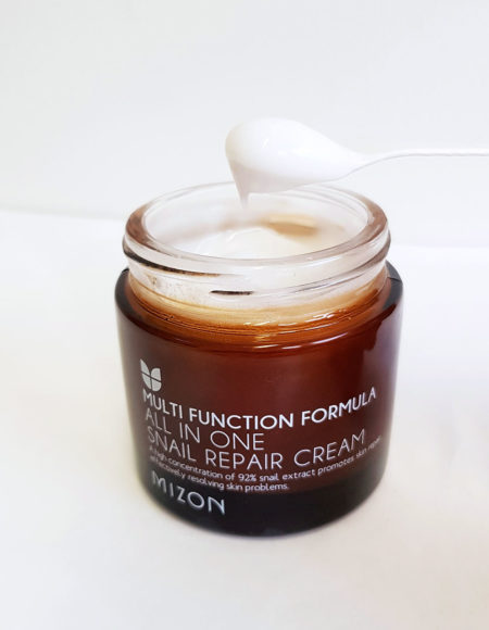 Mizon All In One Snail Repair Cream koostumus