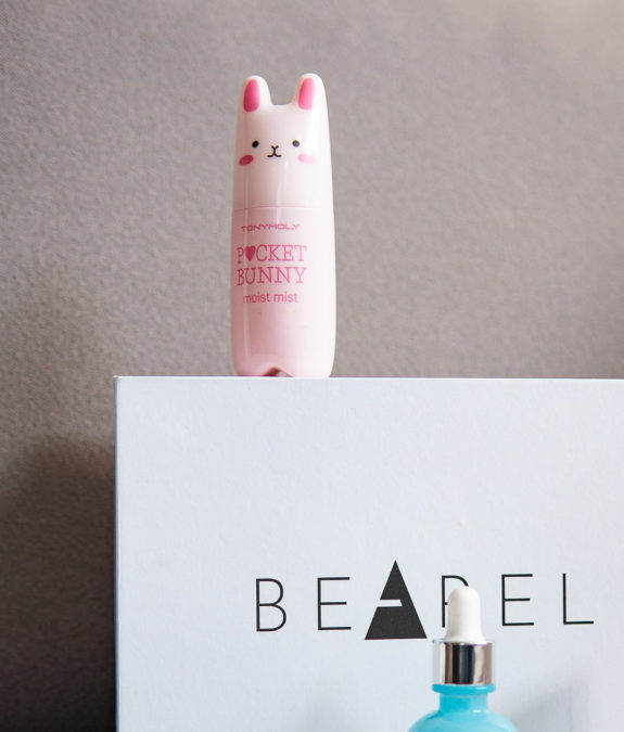 Bearel TonyMoly Pocket Bunny Moist Mist -kasvosuihke