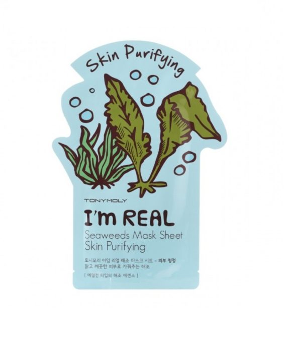 TonyMoly I'm Real Seaweed Mask Sheet - Skin Purifying
