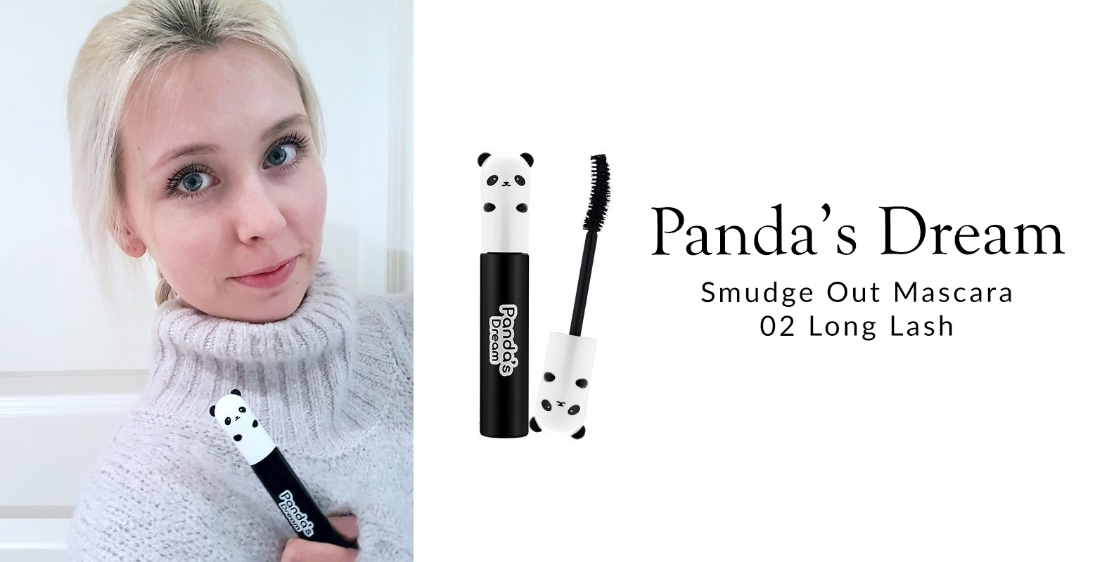 Panda's Dream Smudge Out Mascara 02 Long Lash