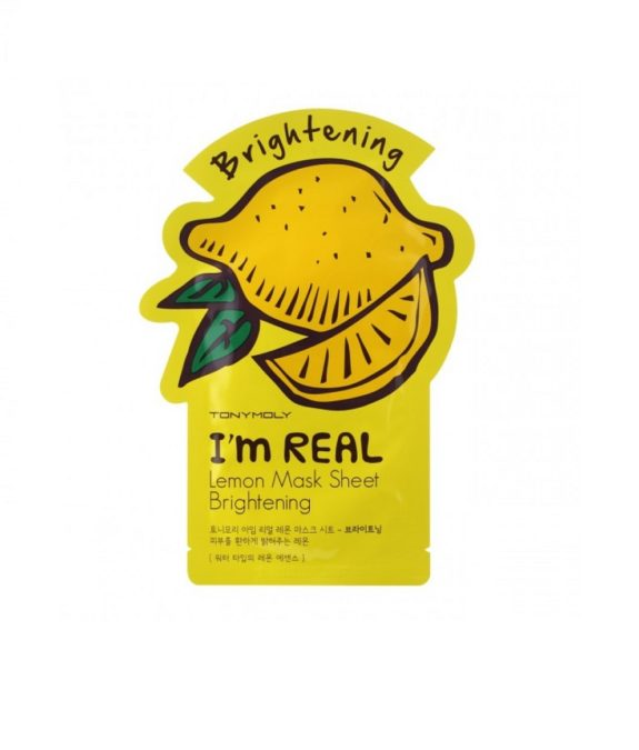 I'm Real Lemon Mask Sheet - Brightening