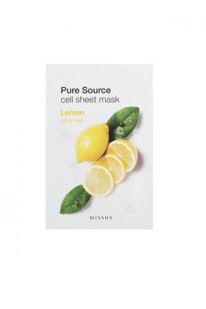 Missha Pure Source Cell Sheet Mask Lemon