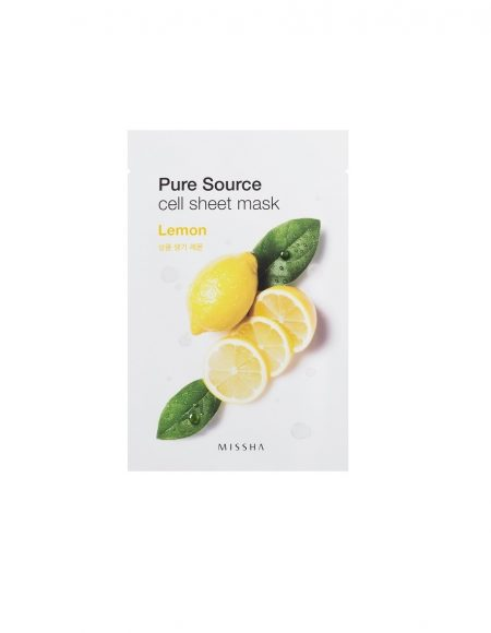 Missha Pure Source Cell Sheet Mask Lemon