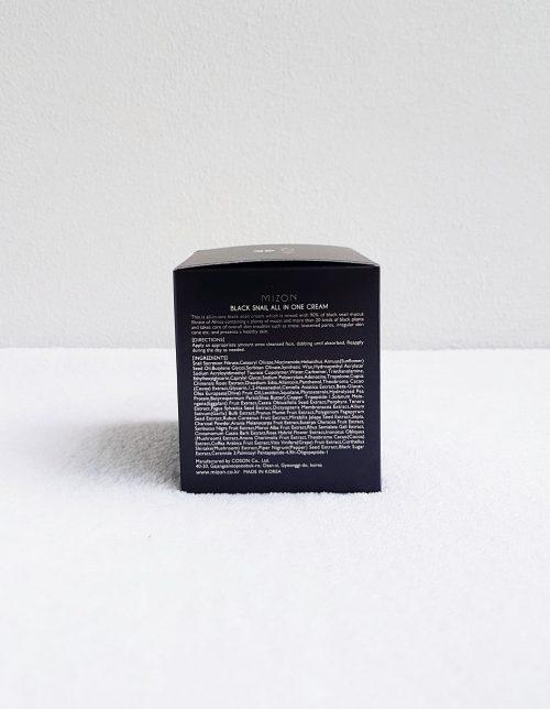 Mizon-Black-Snail-All-In-One-Cream-75ml-pakkaus-takaa