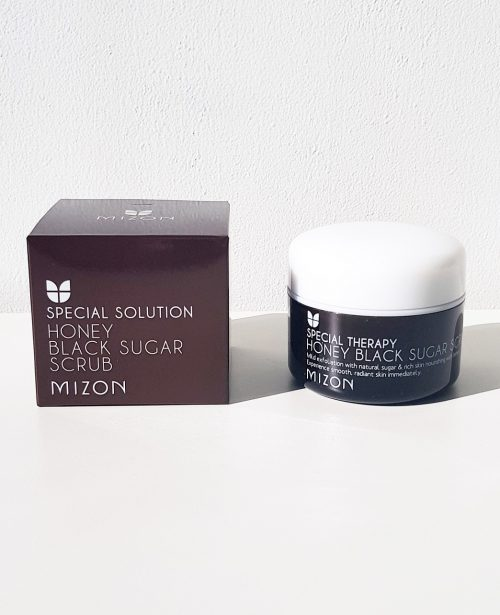 Mizon Honey Black Sugar Scrub 3