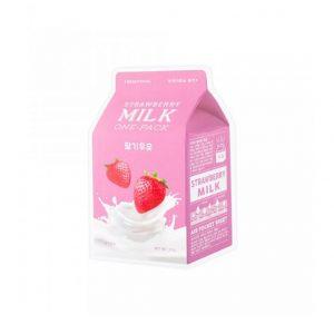A'Pieu Strawberry Milk One-Pack -sheet mask