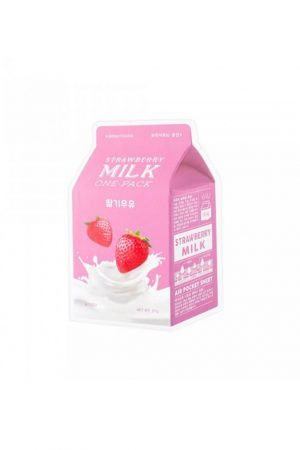 A'Pieu Strawberry Milk One-Pack -sheet mask