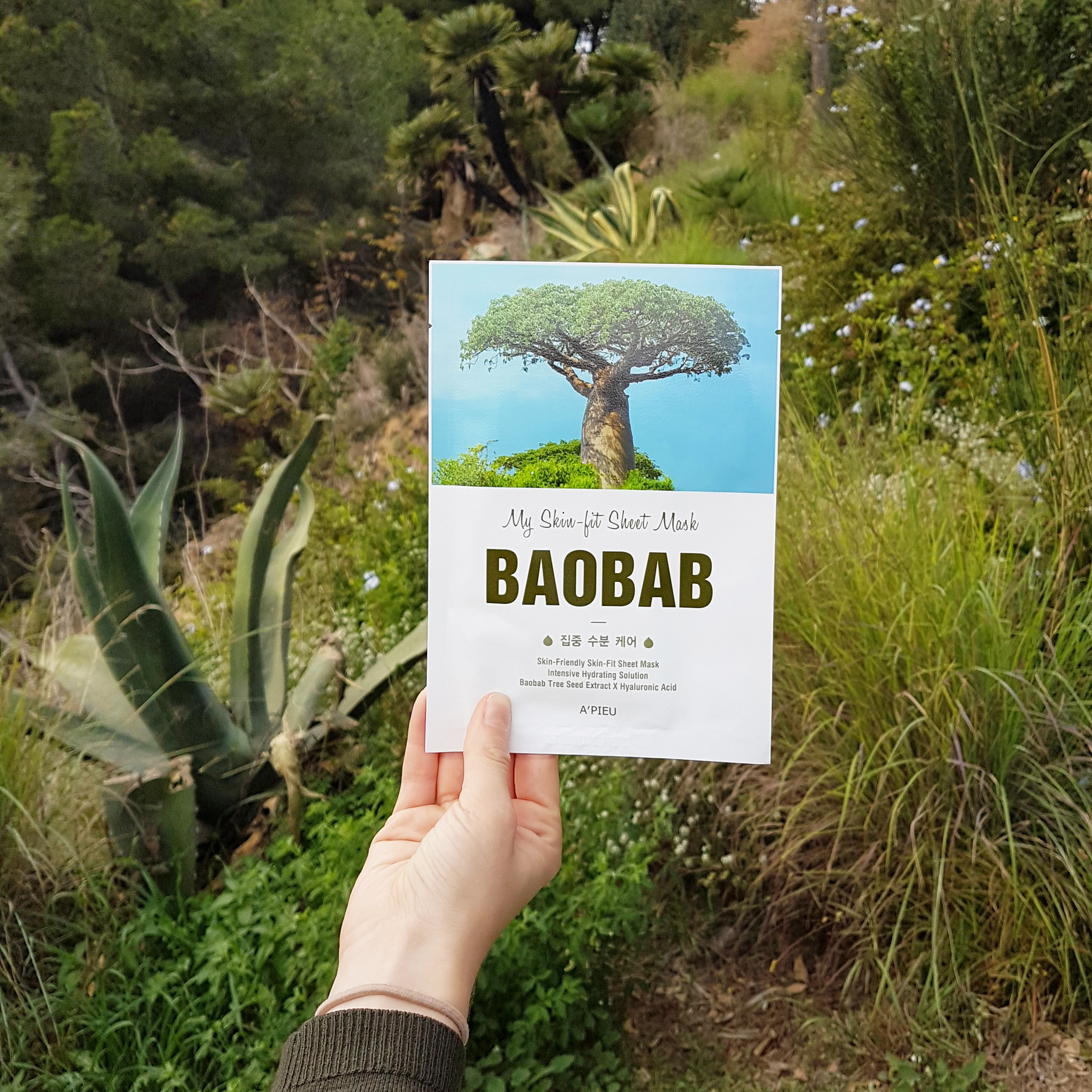 My Skin-Fit Baobab Sheet Mask -kangasnaamio