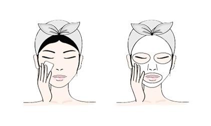Sheet mask käyttöohje