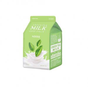 A'Pieu Green Tea Milk One Pack -kangasnaamio