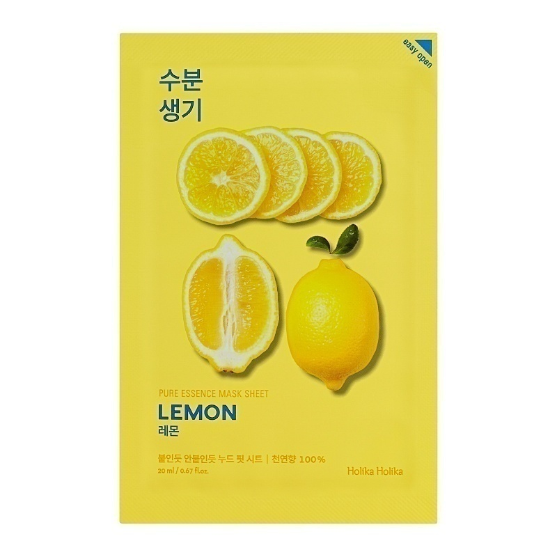 Holika Holika Pure Essence Sheet Mask Lemon