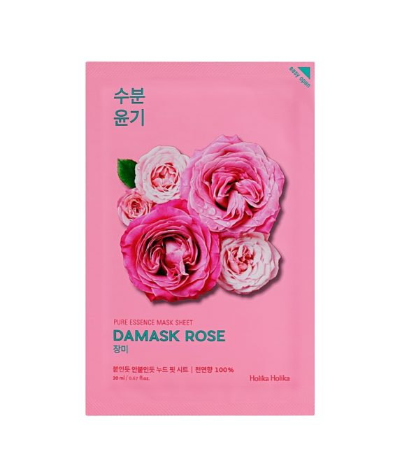 Pure Essence Mask Sheet Damask Rose