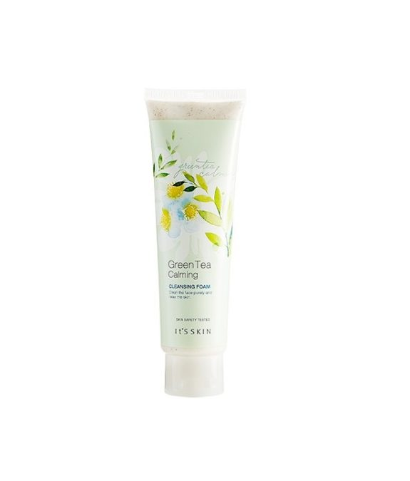 It's Skin Green Tea Calming Cleansing Foam -puhdistusvaahto