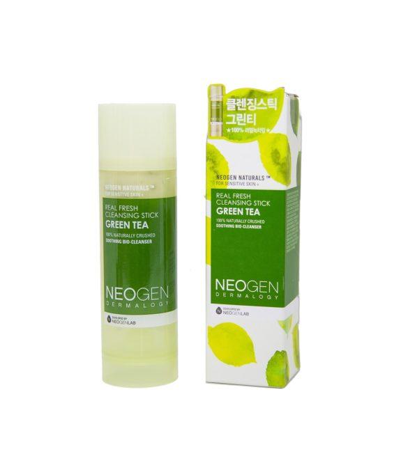 Neogen-Dermalogy-Real-Fresh-Green-Tea-Cleansing-Stick-puhdistuspuikko