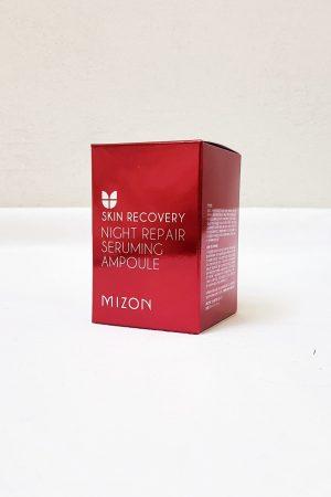 Mizon Night Repair Seruming Ampoule -pakkaus