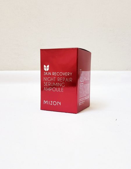 Mizon Night Repair Seruming Ampoule -pakkaus
