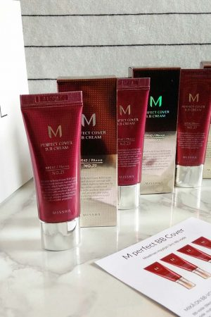 Missha M Perfect Cover BB 20 ml pakkaus