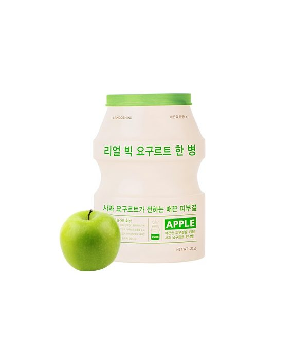 A'Pieu Real Big Yoghurt Apple Sheet Mask -kangasnaamio