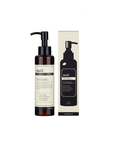 Klairs Gentle Black Deep Cleansing Oil -puhdistusöljy