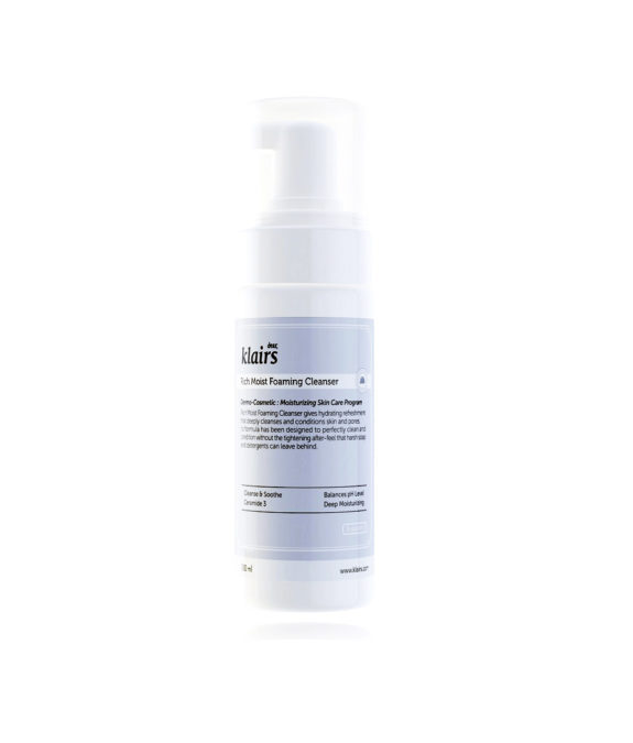 Klairs-Rich-Moist-Foaming-Cleanser-2