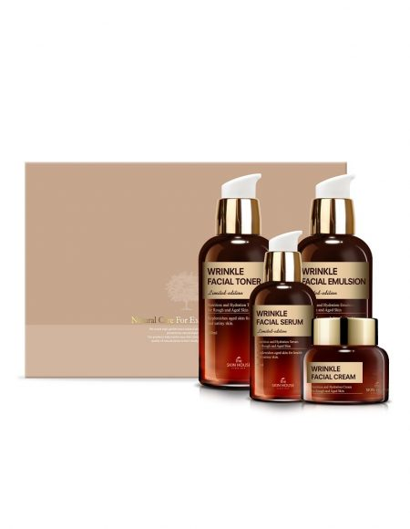 The Skin House Wrinkle Facial Gift Set -lahjapakkaus