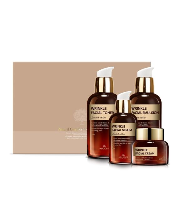 The Skin House Wrinkle Facial Gift Set
