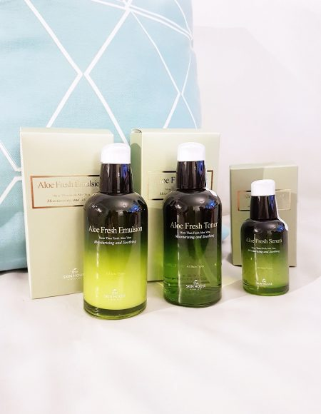 The Skin House Aloe Fresh -tuotesarja