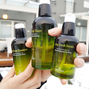 The Skin House Aloe Fresh -hoitosarja