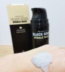 The Skin House Black Snail Bubble Mask