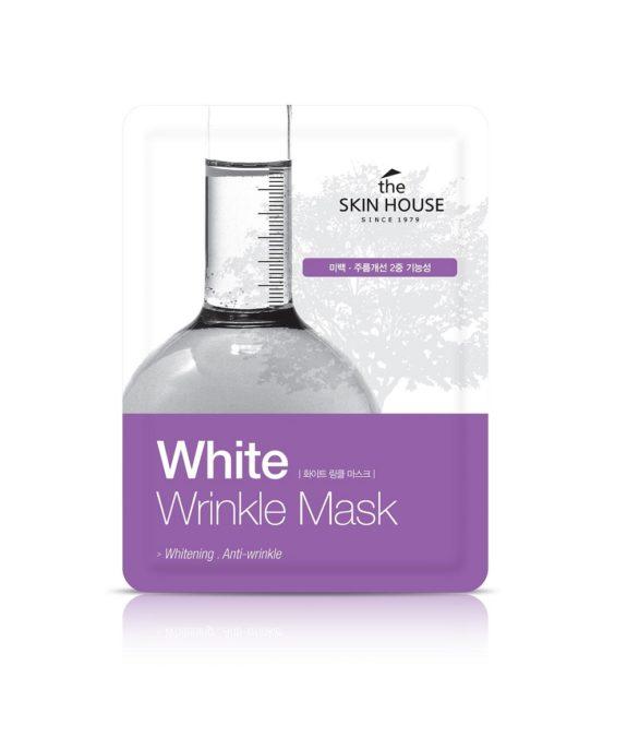 The Skin House White Wrinkle Mask -kangasnaamio