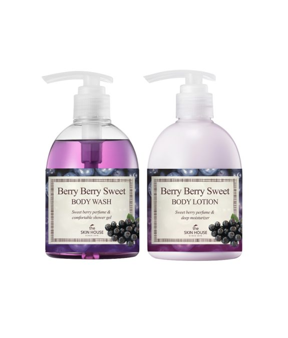 BerryBerry Sweet body wash cream
