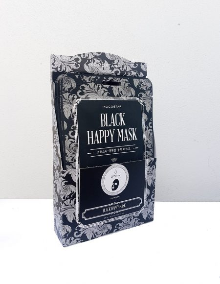 Kocostar Black Happy Mask -kangasnaamio