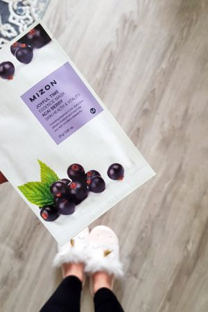 Mizon Joyful Time Essence Mask Acai