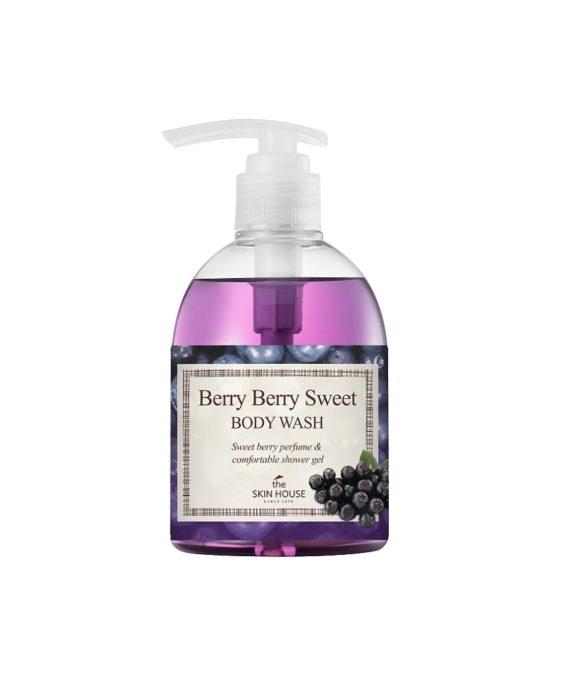 TSH Berry Berry Sweet Body Wash -suihkugeeli