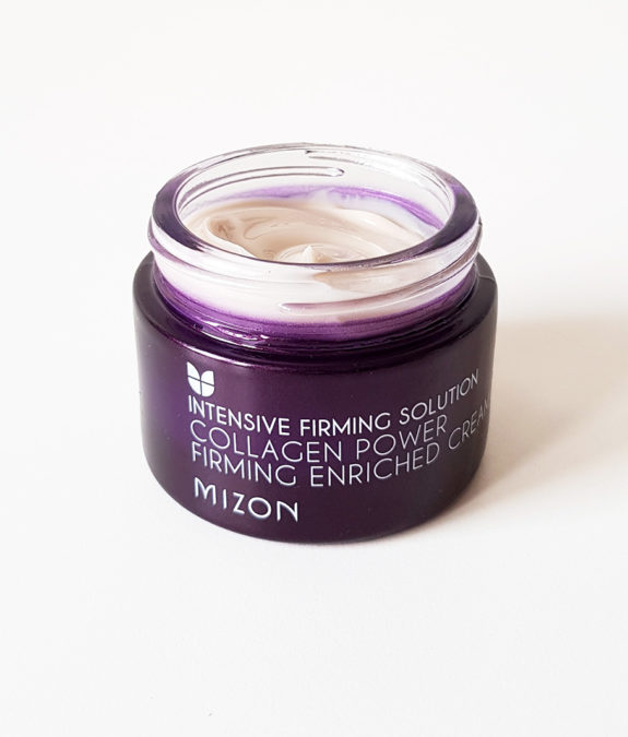 Mizon Collagen Power Firming Enriched Cream -koostumus