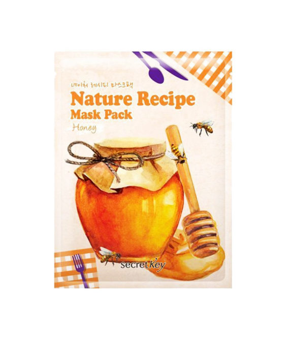 Secret Key Nature Recipe Mask Pack Honey 2
