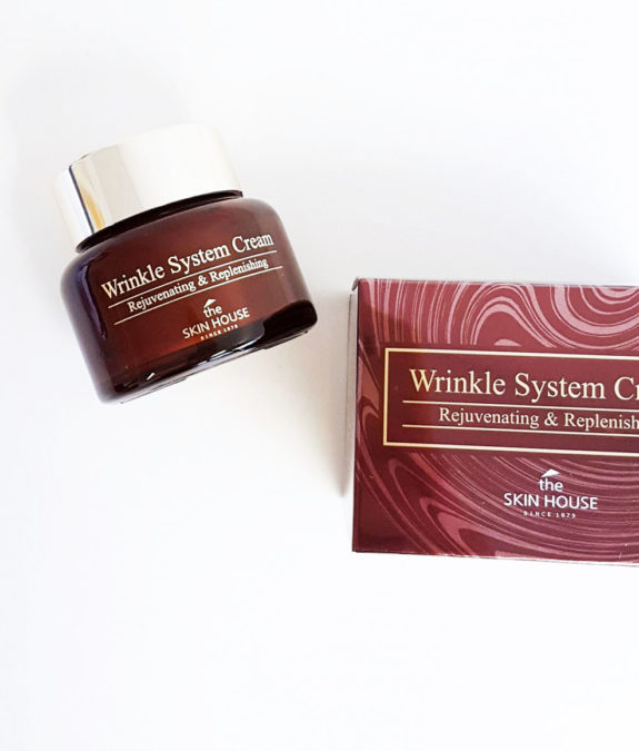 The Skin House Wrinkle System Cream pakkaukset