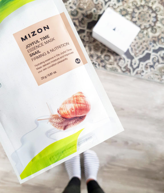 Mizon Joyful Time Essence Mask Snail