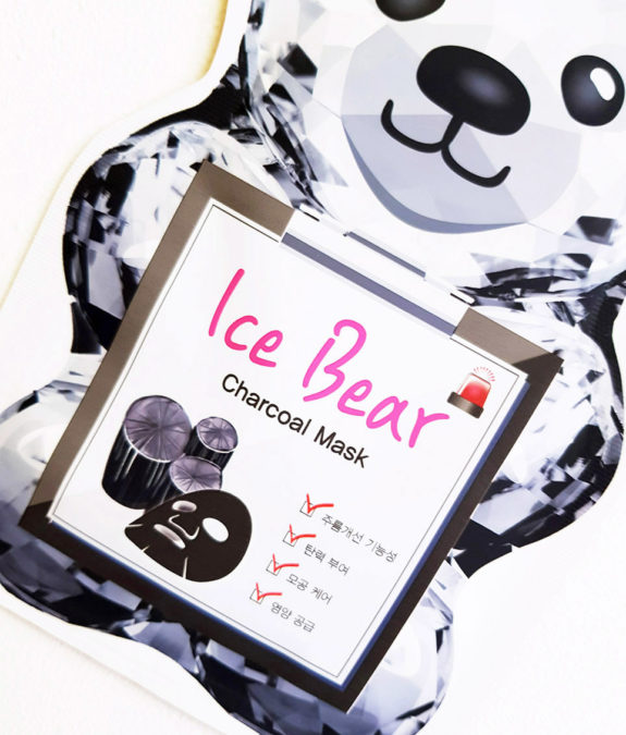 SNP Ice Bear Charcoal Mask 1