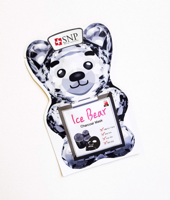 SNP Ice Bear Charcoal Mask 2