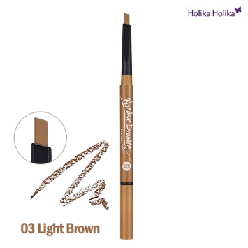 holika holika wonder drawing 24hr auto eyebrow light brown