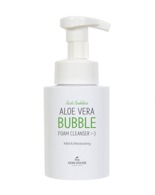 The Skin House Aloe Vera Bubble Foam Cleanser