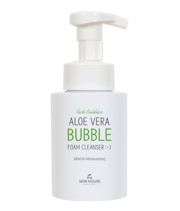 The Skin House Aloe Vera Bubble Foam Cleanser