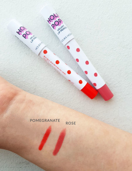Holika Holika Holi Pop Velvet Lip Pencil Pomegranate & Rose