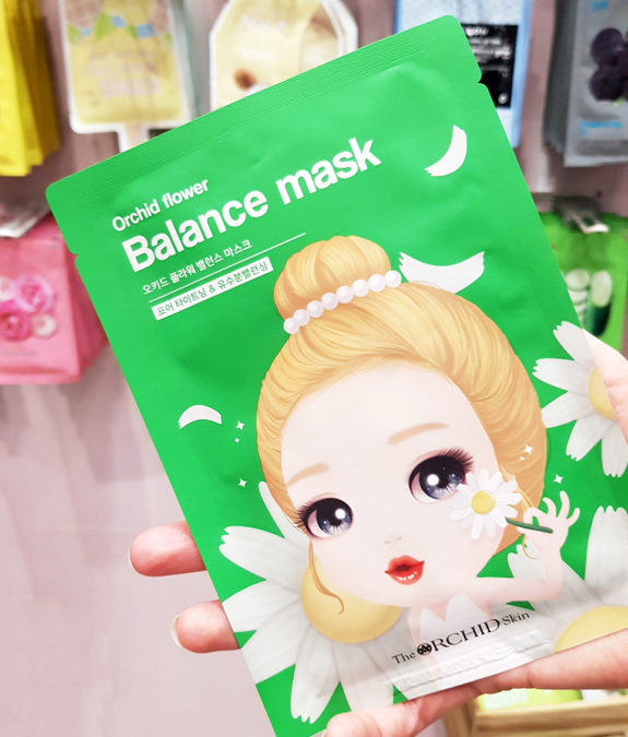 Orchid Skin Flower Balance Mask Bearel